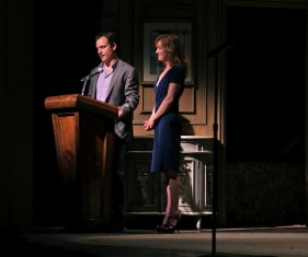 Born for Broadway hosts Tony Goldwyn and Julie White