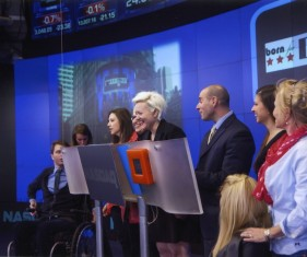 Ringing the closing bell