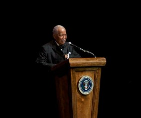 Former Mayor David Dinkins.