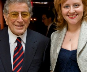 Meeting with Tony Bennett.