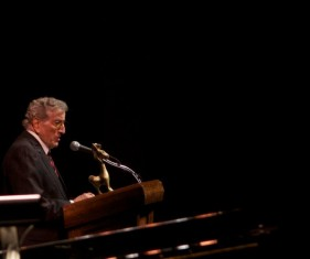 Tony Bennett receives a Lifetime Achievement Award.
