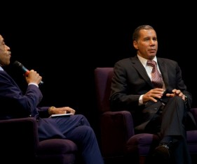 Al Sharpton and David Paterson
